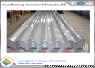 3003 3004 Corrugated Aluminum Roofing Sheet / Embossed Zinc Aluminum Roofing Sheet YX35-125-750
