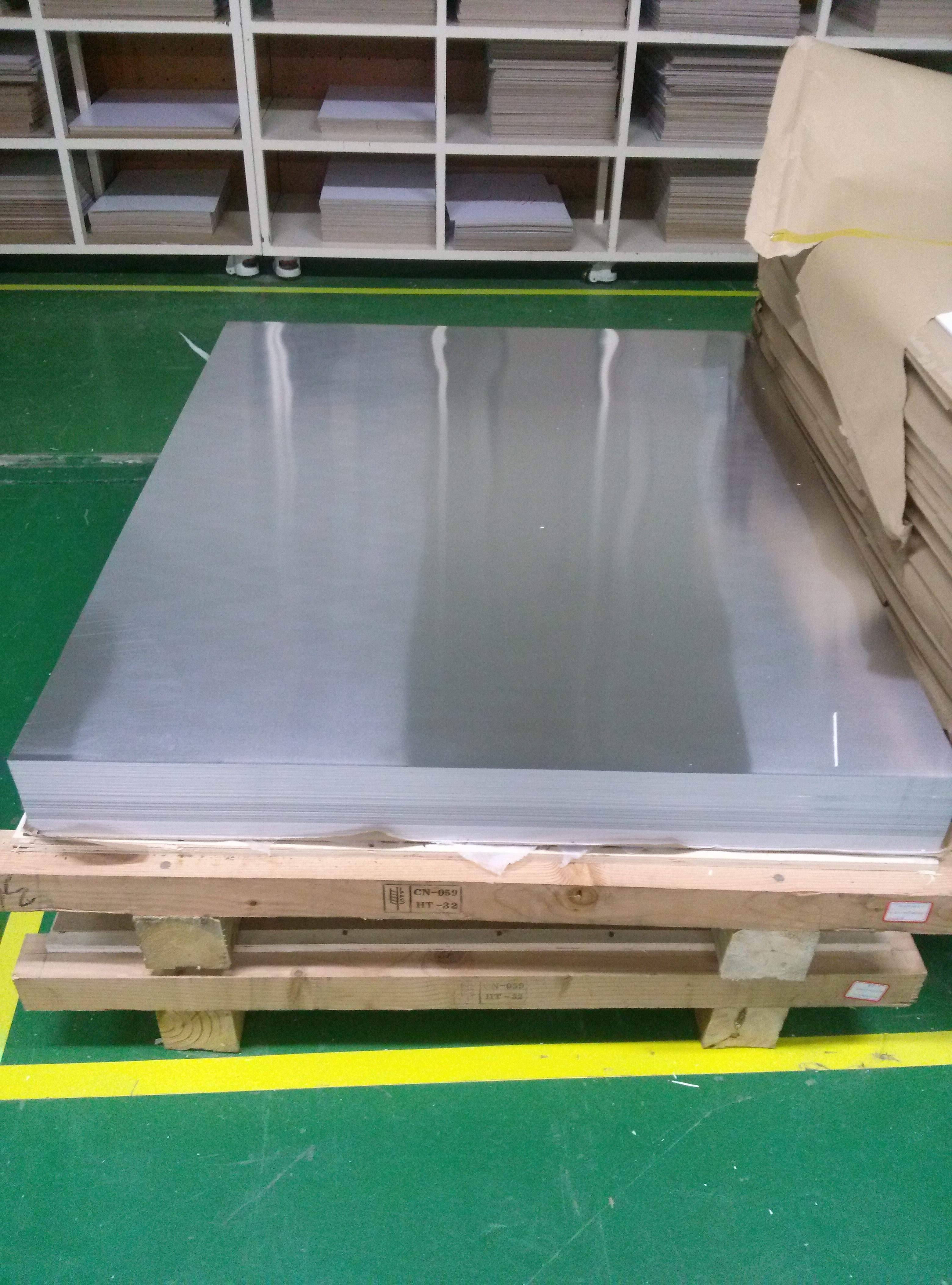 Thickness 0.3 - 300mm 5052 Aluminum Sheet For Fuel Tanks / Storm Shutters